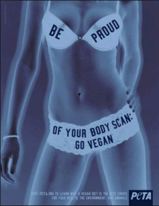 PETA has a long tradition of objectifying women's bodies in the name of animal rights.