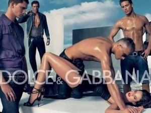 Dolce & Gabbana: where gang rape is sexy.