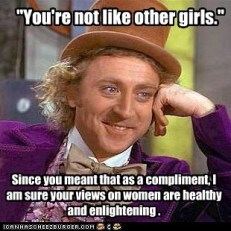 You tell 'em, condescending Wonka.