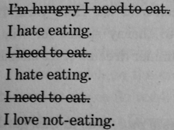 I love not-eating
