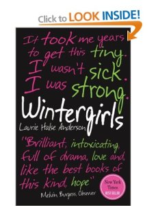 Cover of Wintergirls by Laurie Halse Anderson