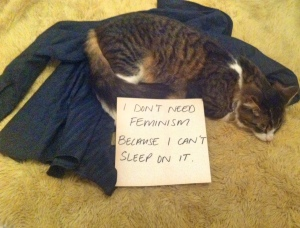 Well, ok. The cat has a point.