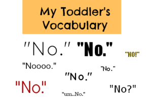 MyToddlersVocabularyConsistsofSayingNo