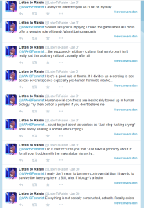 Just for fun, here are some tweets I got in reply to that post too.