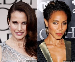 I also respected the film for featuring two actresses who are well out of their 20s - Jada Pinkett-Smith as a savvy business owner who has devoted her life to helping women feel beautiful and special at her high-end strip club, and Andie MacDowell as the radiant middle-aged woman who helps Richie get his groove back.